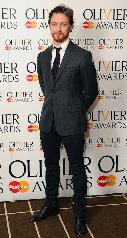 James McAvoy at the 2015 Olivier Awards