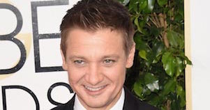 Jeremy Renner at Golden Globe Awards 2015