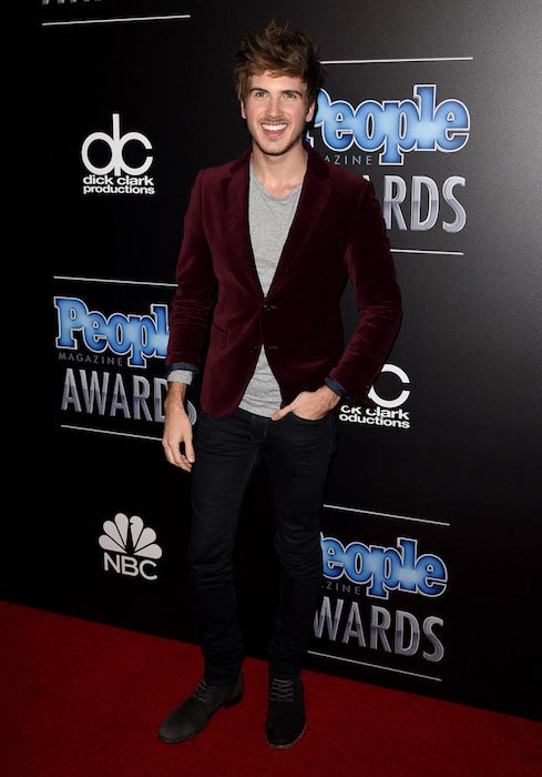 Joey Graceffa during PEOPLE Magazine Awards in December 2014