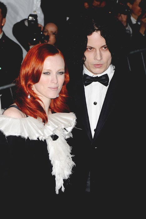 Karen Elson and Jack White