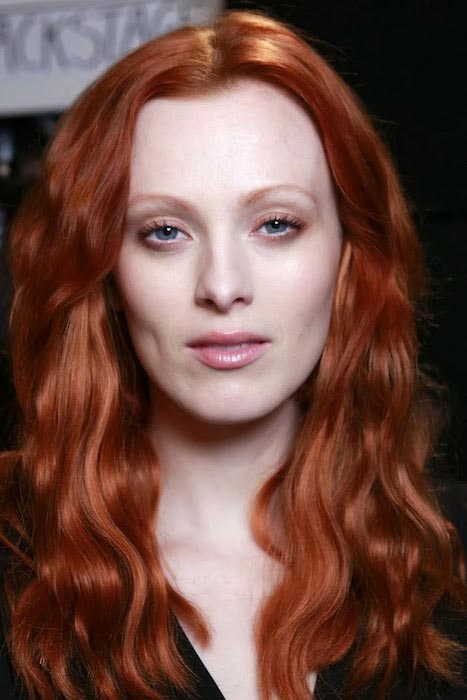 Model and singer, Karen Elson