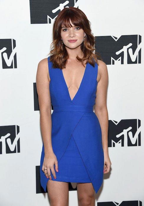 Katie Stevens at MTV 2015 Upfront Presentation in New York City