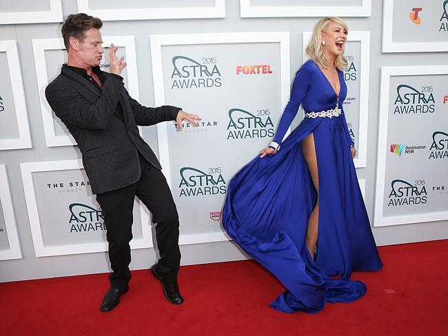 Kerri-Anne Kennerley during Astra Awards in March 2015