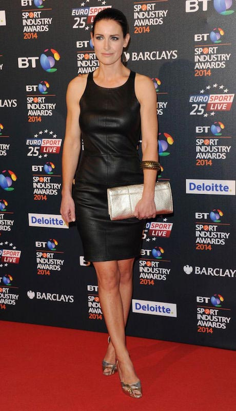 Kirsty Gallacher at BT Sport Industry Awards 2015 in London