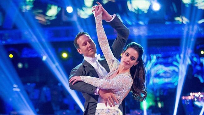 "Kirsty Gallacher in ""Strictly Come Dancing"""