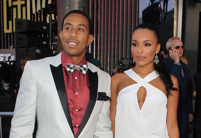 Ludacris and model wife Eudoxie Mbouguiengue
