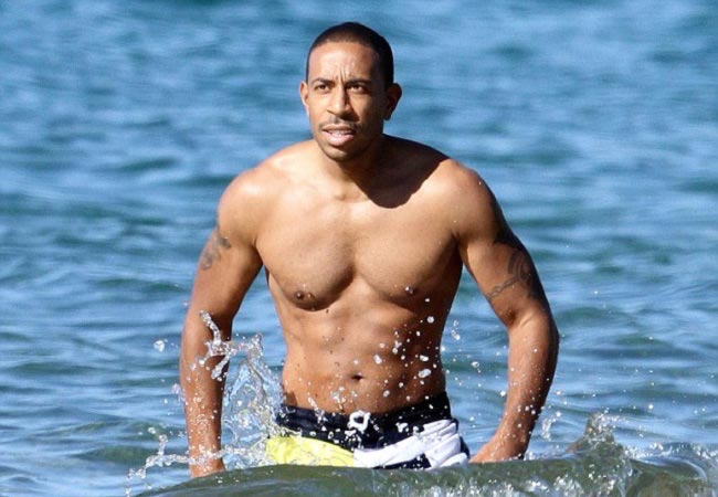 Ludacris shirtless body