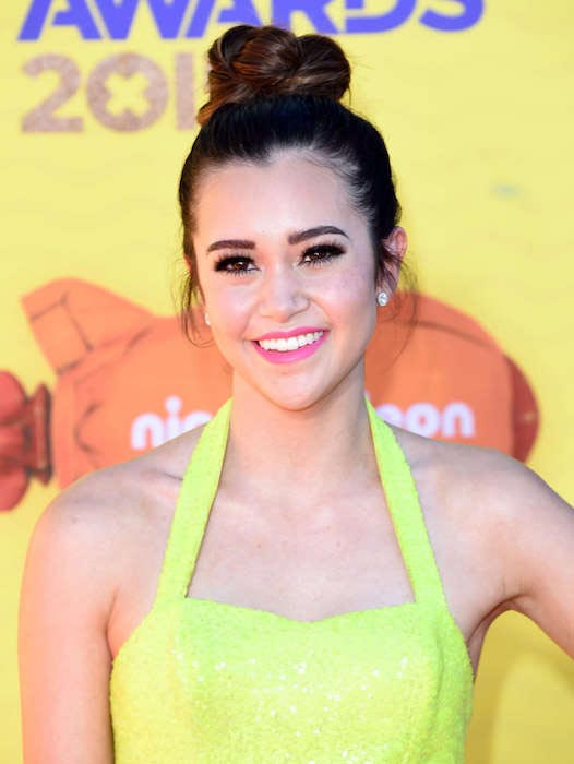 Megan Nicole at 2015 Nickelodeon Kids Choice Awards