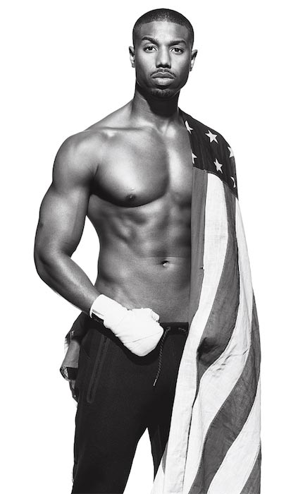 Michael B. Jordan shirtless body