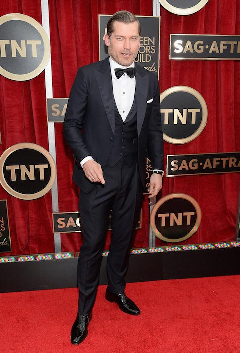 Nikolaj Coster-Waldau at 2015 SAG Awards