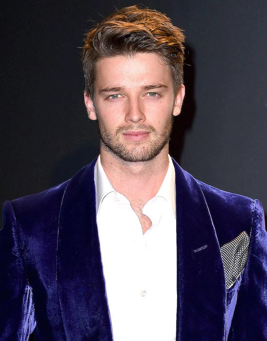 Patrick Schwarzenegger during Tom Ford Autumn / Winter 2015 Womenswear Collection