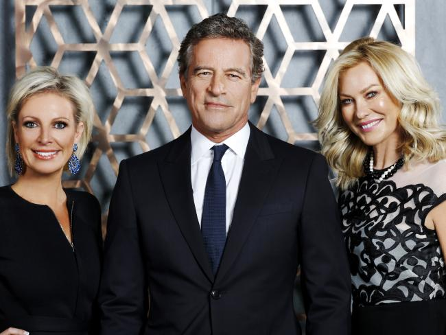 Shelley Barrett, Mark Bouris and Kerri-Anne Kennerley star on The Celebrity Apprentice