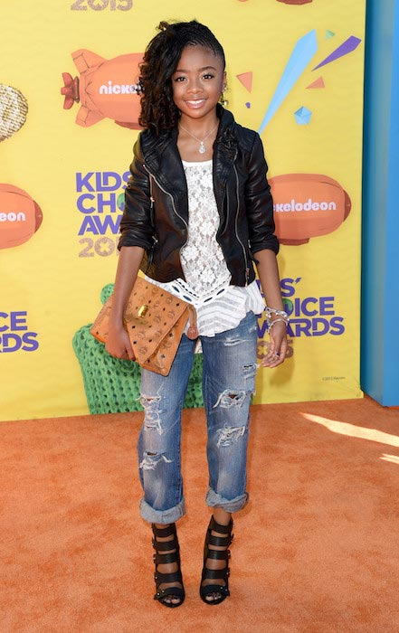 Skai Jackson at Nickelodeon's Kids Choice Awards 2015