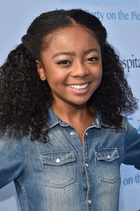 Skai Jackson at the Mattel Party On The Pier in September 2015