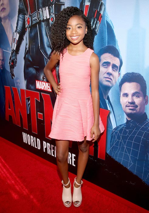 Skai Jackson at the world premiere of Marvel's Ant-Man in June 2015