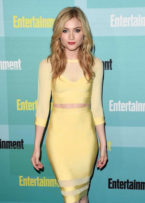Skyler Samuels at Entertainment Weekly's Comic-Con 2015 Party
