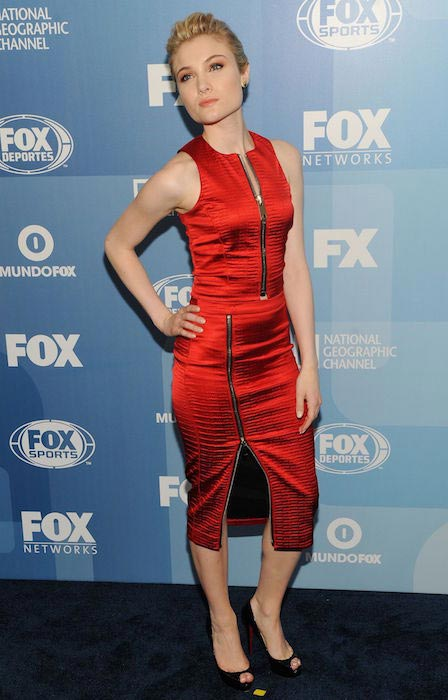 Skyler Samuels at Fox Network 2015 Programming Upfront in New York City