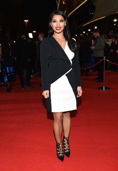 Vanessa White at MOBO 2015 in November