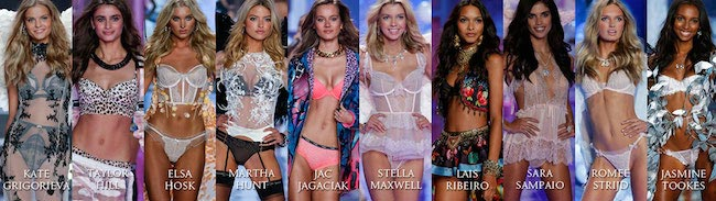 Victoria's Secret Models for the 2015 Show