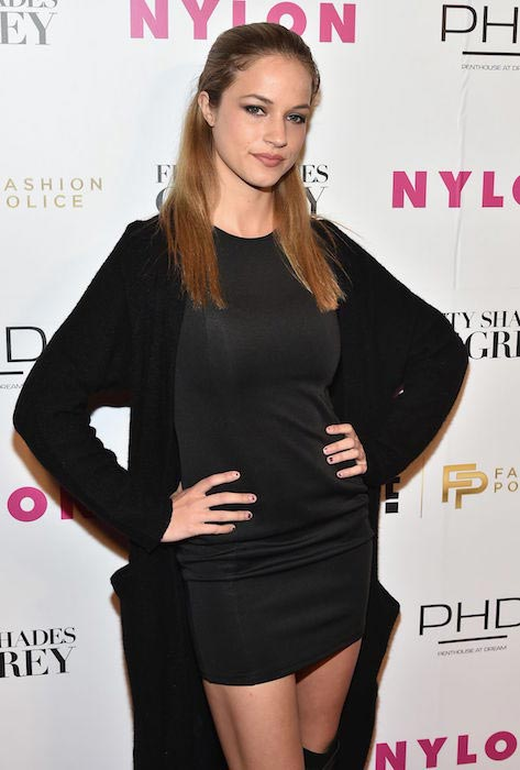 Alexis Knapp at NY Fashion Week Kickoff with Fifty Shades of Fashion Event in New York City in February 2015