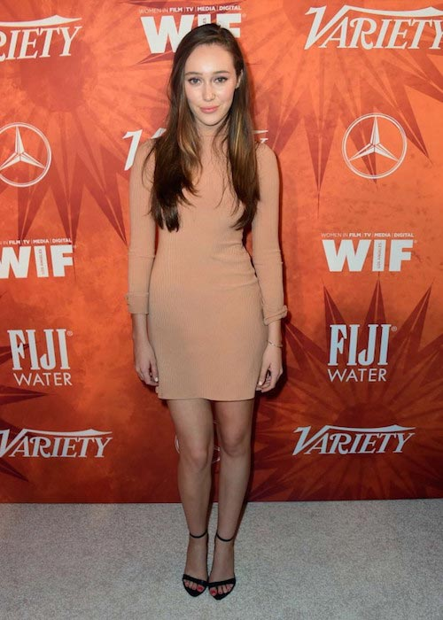 Alycia Debnam-Carey during the Variety and Women in Film Annual Pre-Emmy Celebration 2015
