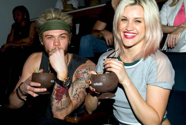Ashley Roberts and Ryan Fletcher