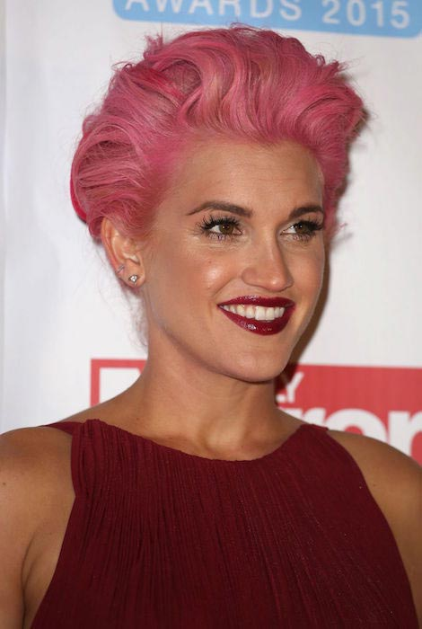 Ashley Roberts at Daily Mirror RSPCA Animal Hero Awards 2015 in London