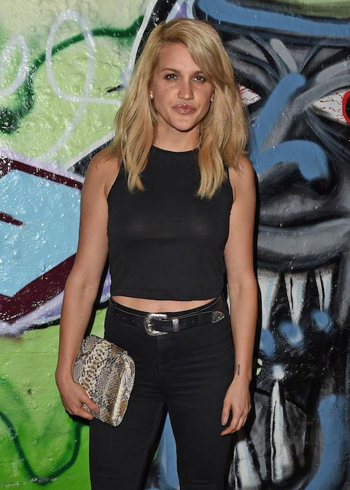 Ashley Roberts at Storm Model Agency Party in London in June 2015