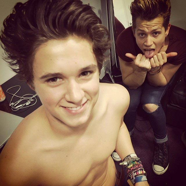 Bradley Simpson shirtless