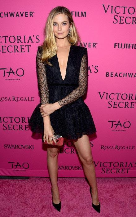 Bridget Malcolm at Victoria's Secret Fashion Show After Party 2015