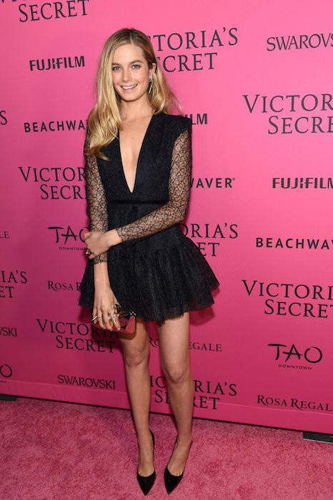 Bridget Malcolm during Victoria's Secret Fashion Show 2015 After Party in NYC at Tao