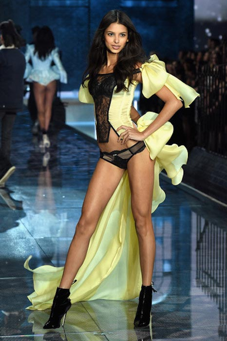 Bruna Lirio during 2015 Victoria's Secret Fashion Show