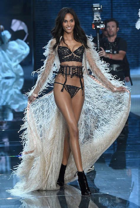 Cindy Bruna walks 2015 Victoria's Secret Fashion Show