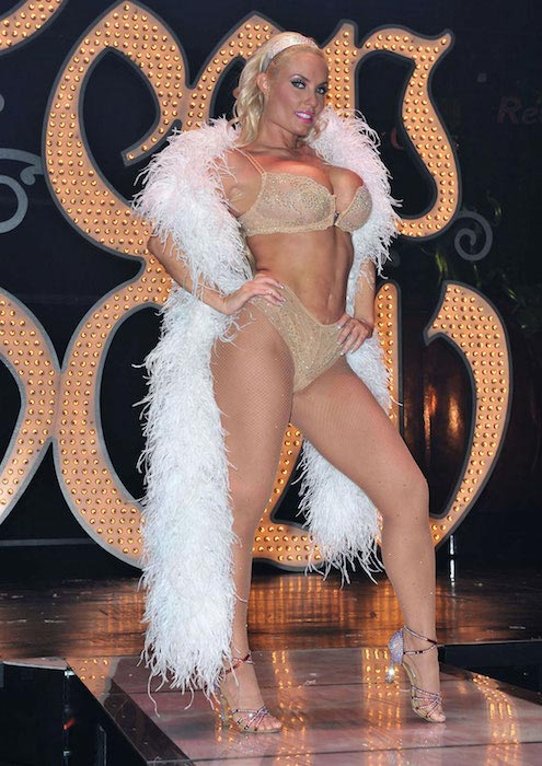 Coco Austin at Peepshow in Las Vegas in December 2012