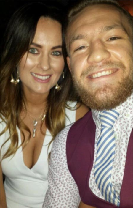Conor McGregor and girlfriend Dee Devlin
