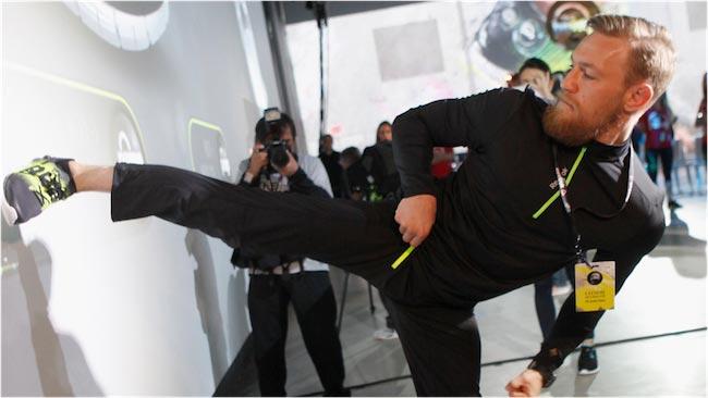 Conor McGregor kick