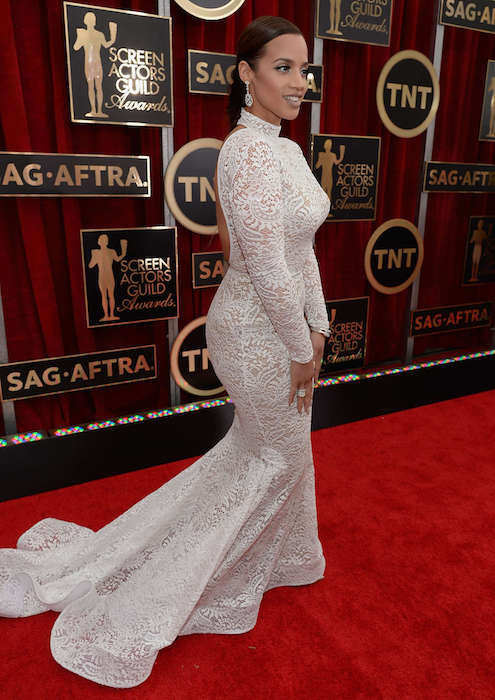 Dascha Polanco at 2015 Screen Actors Guild Awards
