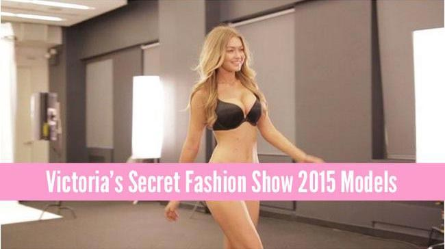 Gigi Hadid confirmed for the Victoria's Secret Fashion Show 2015