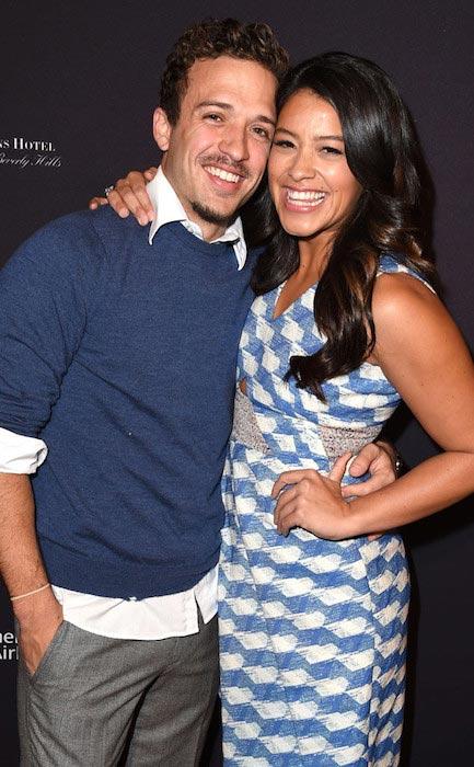 Gina Rodriguez and Henri Esteve