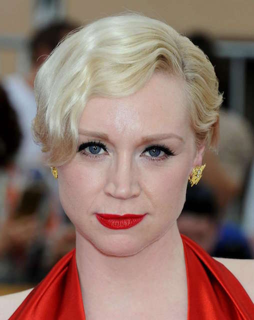 Gwendoline Christie at 2015 SAG Awards
