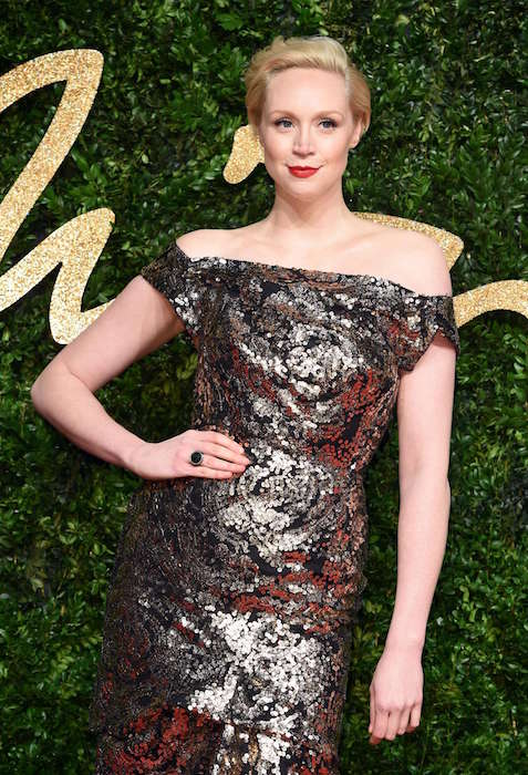 Gwendoline Christie at British Fashion Awards 2015