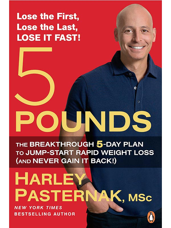 Harley Pasternak latest book 5 Pounds