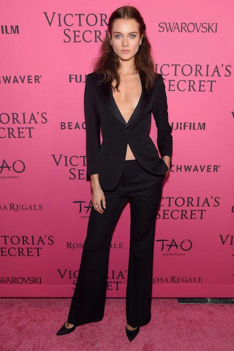 Jac Jagaciak at Victoria's Secret Fashion Show 2015 After Party in NYC