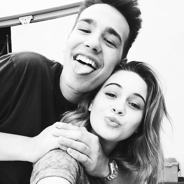 Jacob Whitesides and Bea Miller