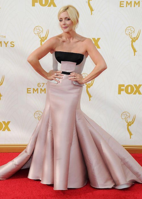 Jane Krakowski at 2015 Primetime Emmy Awards in Los Angeles