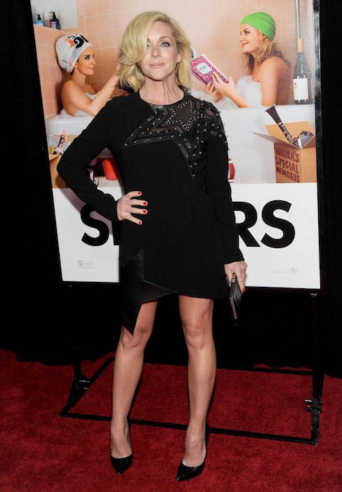"Jane Krakowski at ""Sisters"" premiere at Ziegfeld Theater in New York in December 2015"