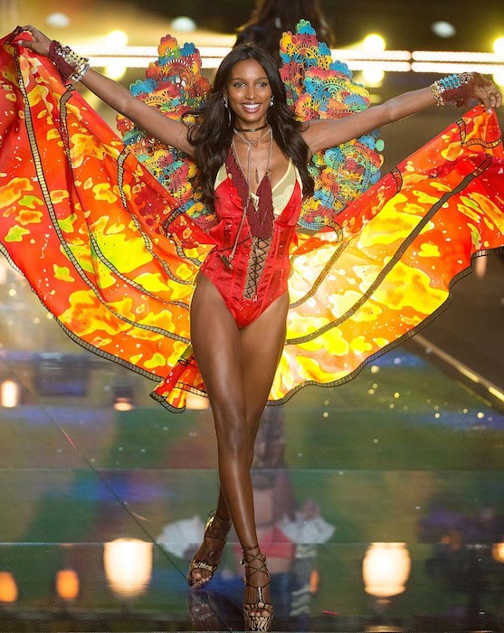 Jasmine Tookes at 2015 Victoria's Secret Fashion Show