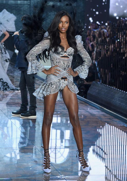Jasmine Tookes at Victoria's Secret Fashion Show 2015