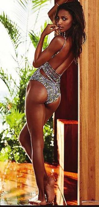 Jasmine Tookes during Victoria's Secret 2015 photoshoot