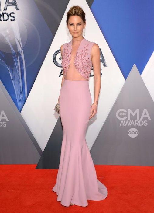 Jennifer Nettles at 2015 CMA Awards in Nashville